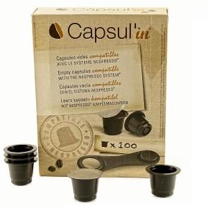 Capsul'in compatible Nespresso, lot de 100